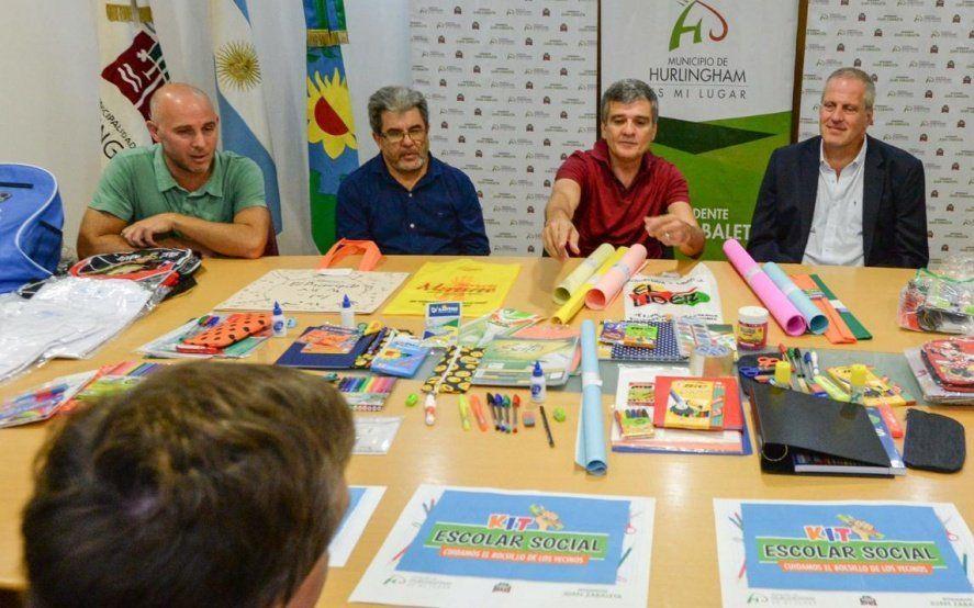 "En Hurlingham, el municipio lanzó un ""Kit escolar Social"" con 30% de descuento en útiles"