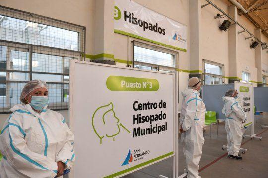 Andreotti inauguró un nuevo centro de hisopados con resultados en 20 minutos
