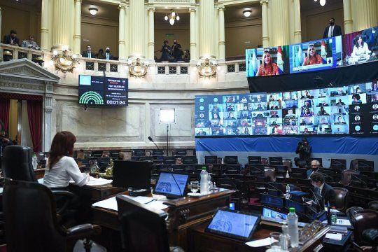 el senado de la nacion volvera a las sesiones presenciales