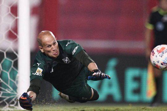 Sebastián Sosa, la gran figura de Independiente en la Sudamericana.
