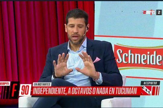 Sebastián Domínguez no tuvo miedo a hablar de la homosexualidad en el fútbol