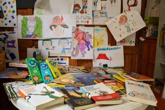 semana del cuento y la lectura: ultimo dia de actividades en la biblioteca ambulante del hospital de ninos