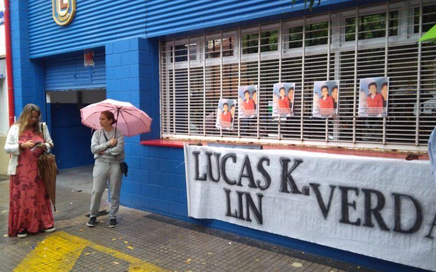 """En otro pedido de justicia por Lucas Lin, habló la vocera del colegio: """"No sabemos lo que pasó"""""""