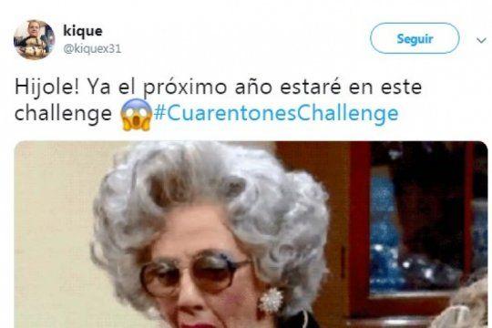 #cuarentoneschallenge: el reto viral que enfrenta el paso del tiempo y arrasa en las redes