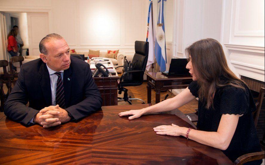 Tras la polémica con Frederic, Berni viaja al Consejo Federal en Tucumán